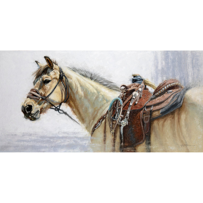 Buckskin ~ Night of Artists ~ Sold