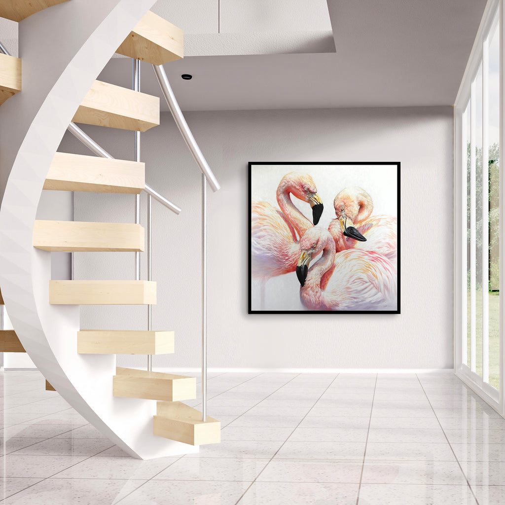 Flamingo Flamenco ~ Giclée