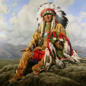 Heart of the Cloud People - Arapaho - Petite Giclée