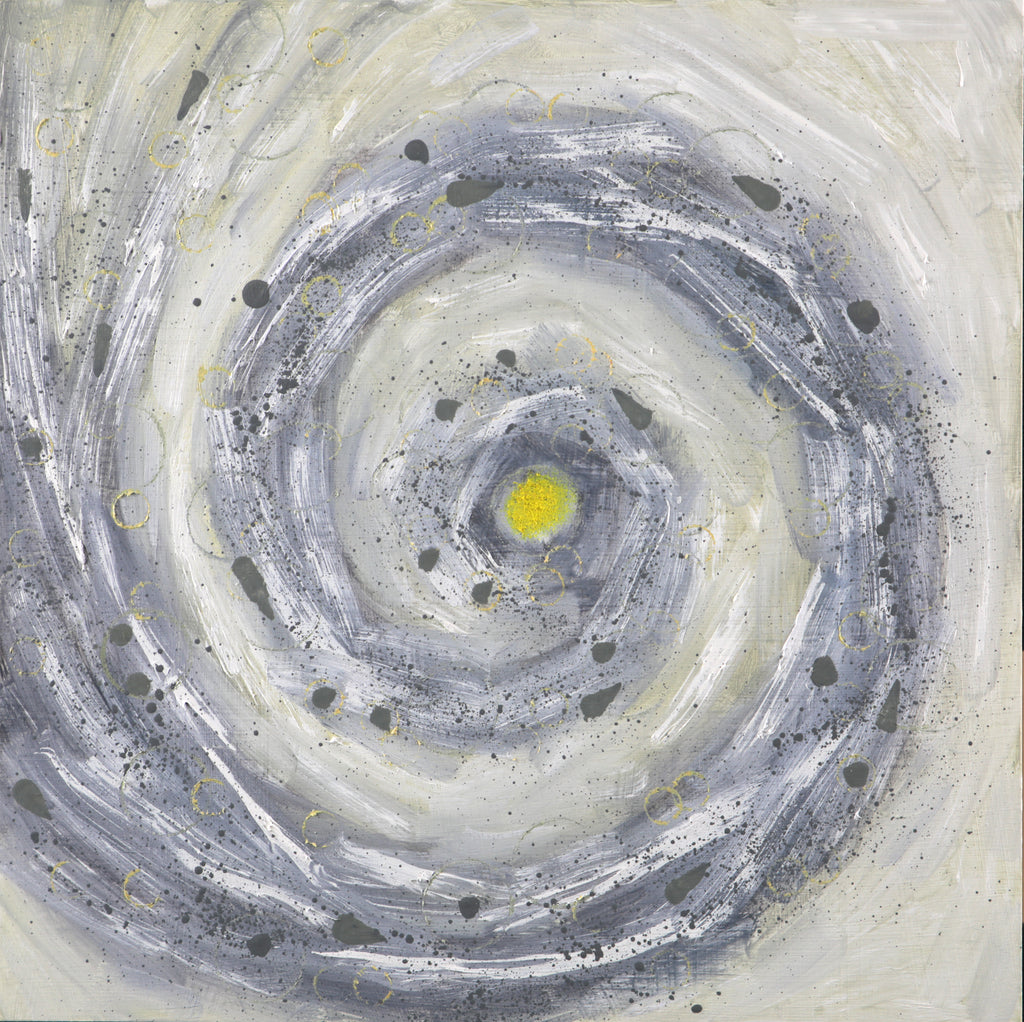 "Vortex - Lemon  12"" x 12"""