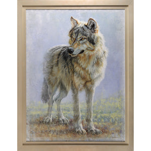 "Omahkapi'si - Timber Wolf 40""x30"" - Broadmoor Gallery"