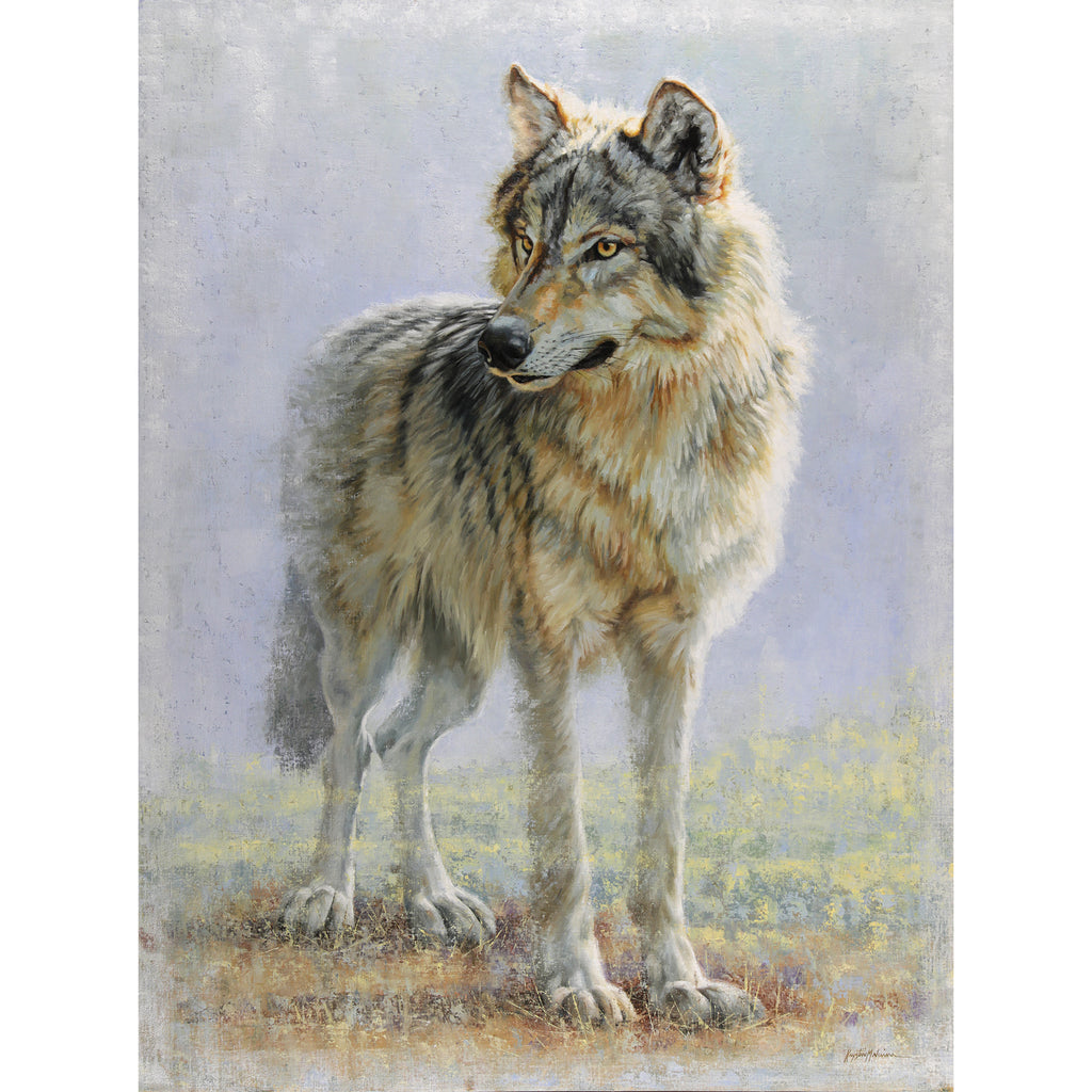 Omahkapi'si - Timber Wolf (Blackfoot)  -  Giclée