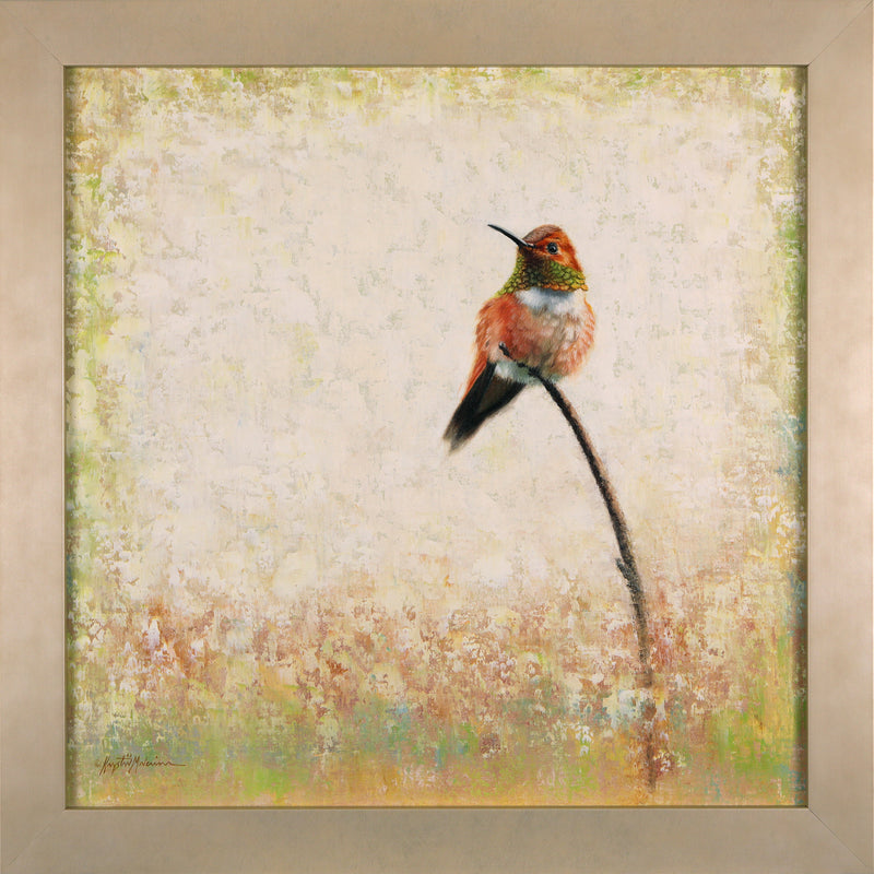 "Rufous  18""x18"" - Broadmoor Gallery - SOLD"