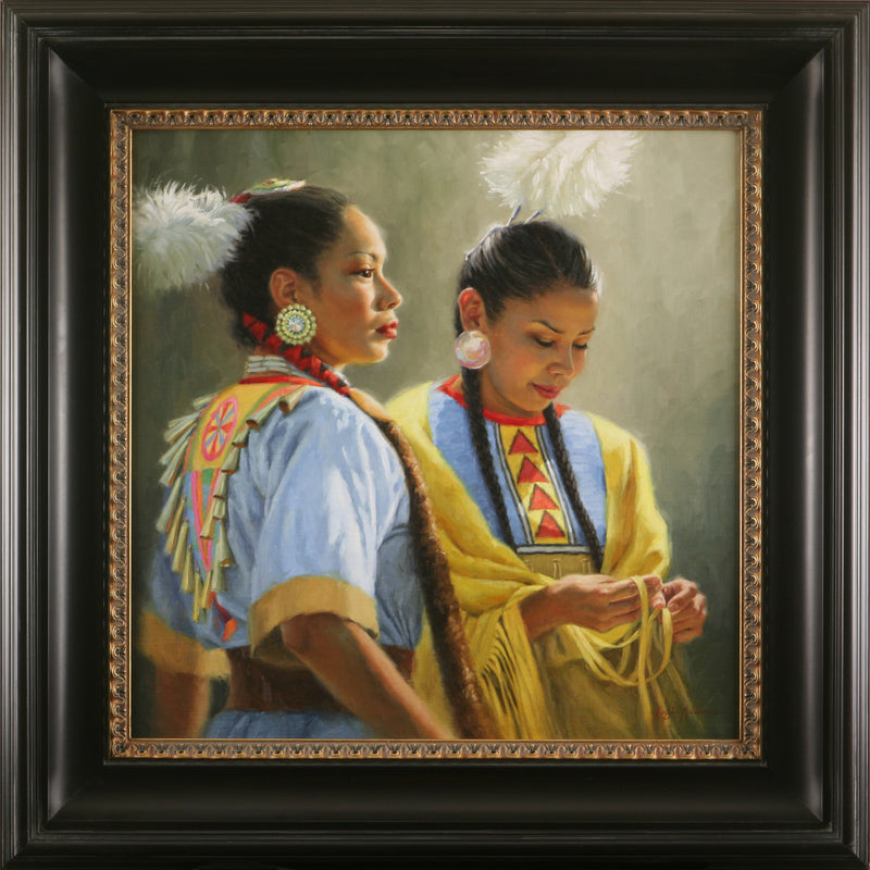 "Sisters  24"" x 24"" ~ Going to the Sun Gallery"