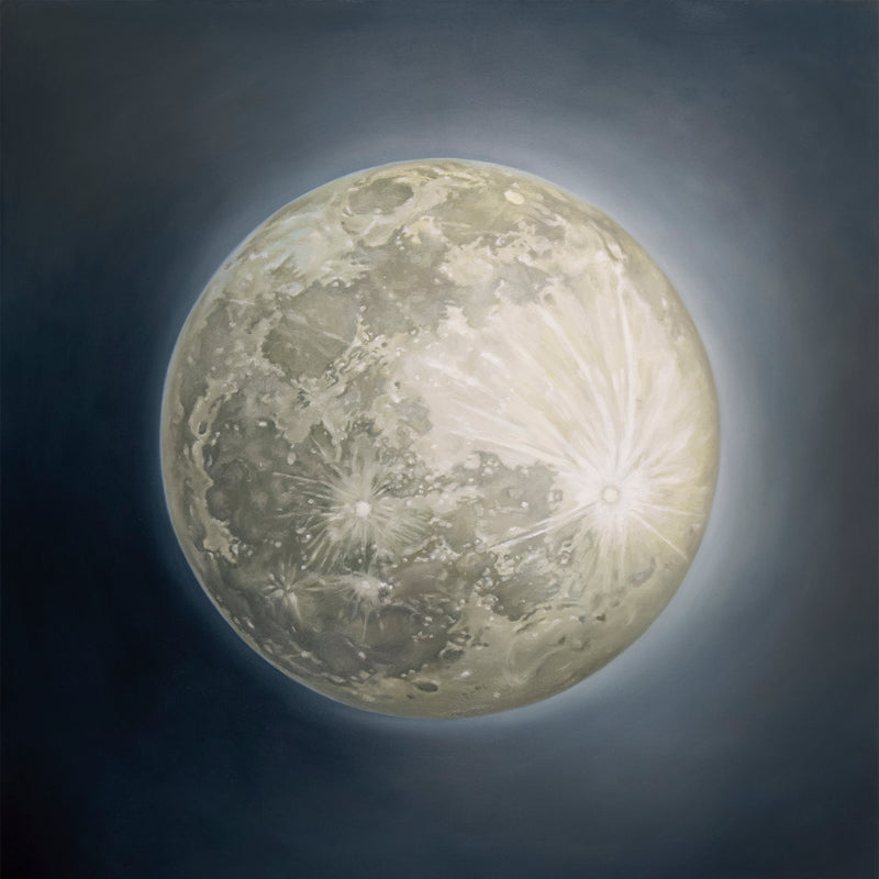 Snow Moon ~ Square Giclée