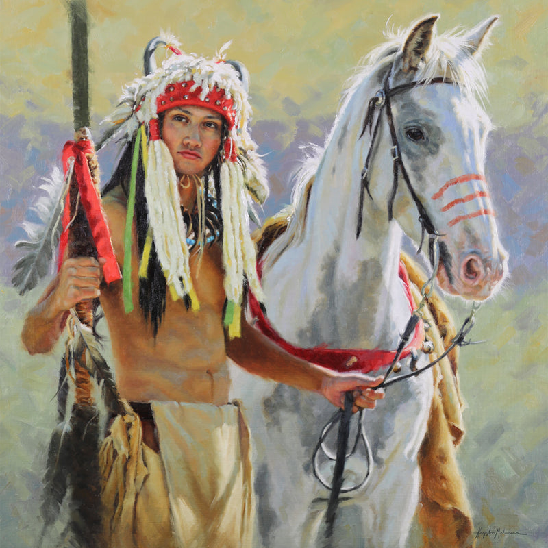 Spirit Horse of the Siksika - Petite Giclée