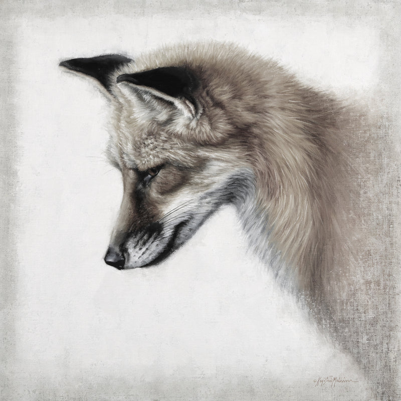 Sungila - Red Fox ~ Sepia Giclée