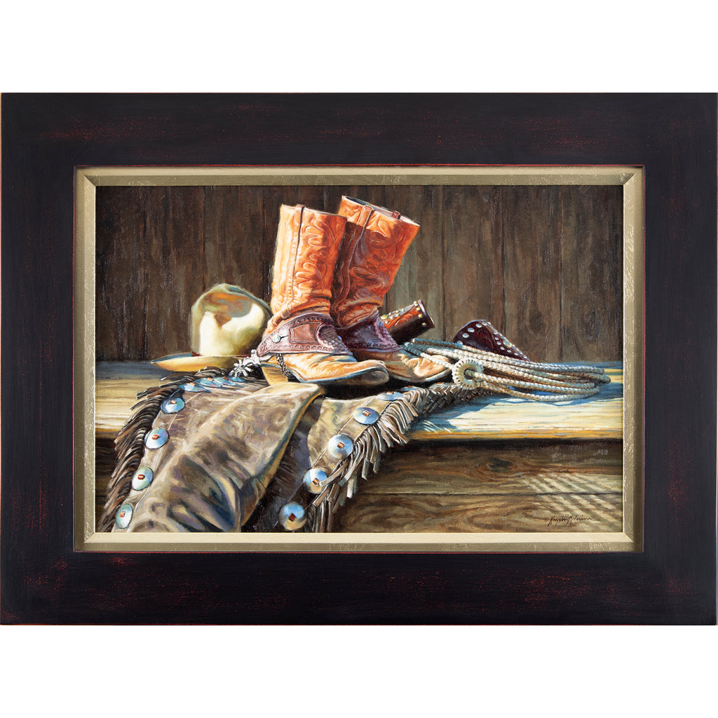 "Well Worn  16"" x 24"" - Briscoe Western Art Museum"