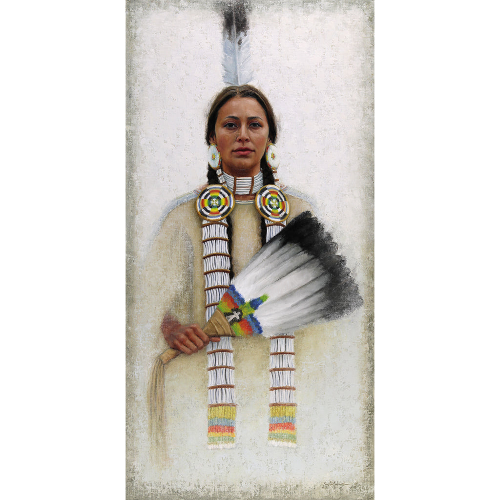 Wicalu - The Fan, Lakota ~ Giclée