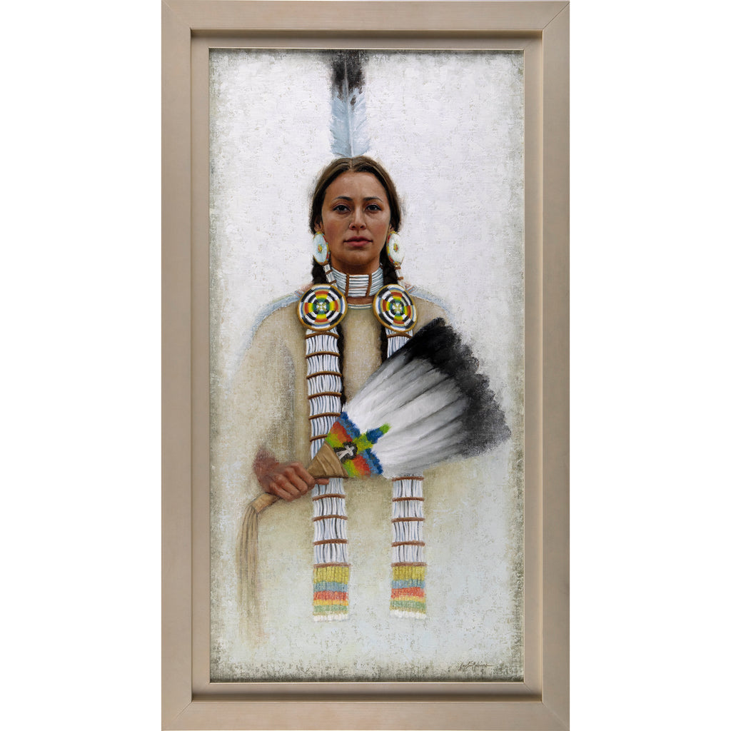 Wicalu - The Fan, Lakota ~ Quest For The West ~ SOLD