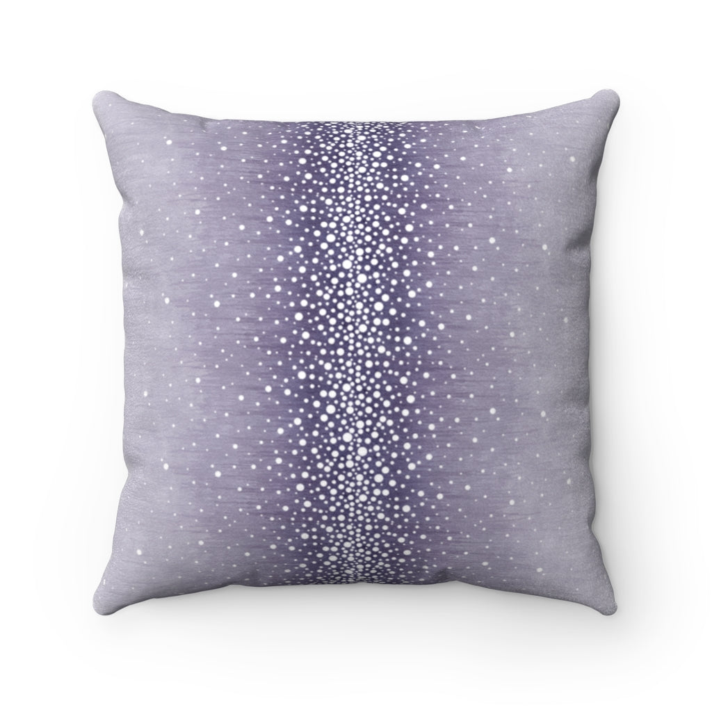 Rain ~ Heather ~ Faux Suede Square Pillow