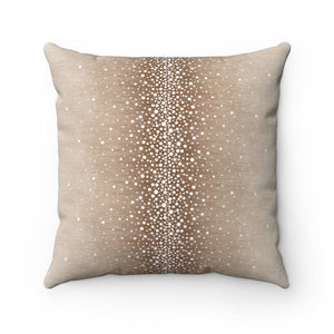 Rain ~ Desert Light ~ Faux Suede Square Pillow