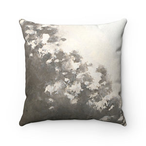 Flotsam ~ Storm ~ Faux Suede Square Pillow