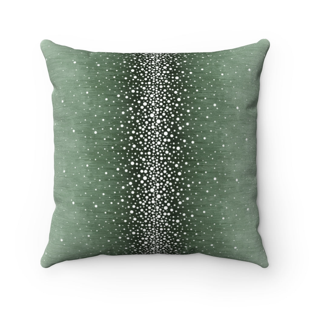 Rain ~ Forest ~ Faux Suede Square Pillow