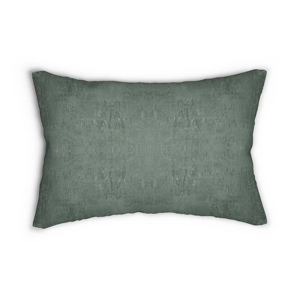 Watermark ~ Forest ~ Spun Polyester Lumbar Pillow