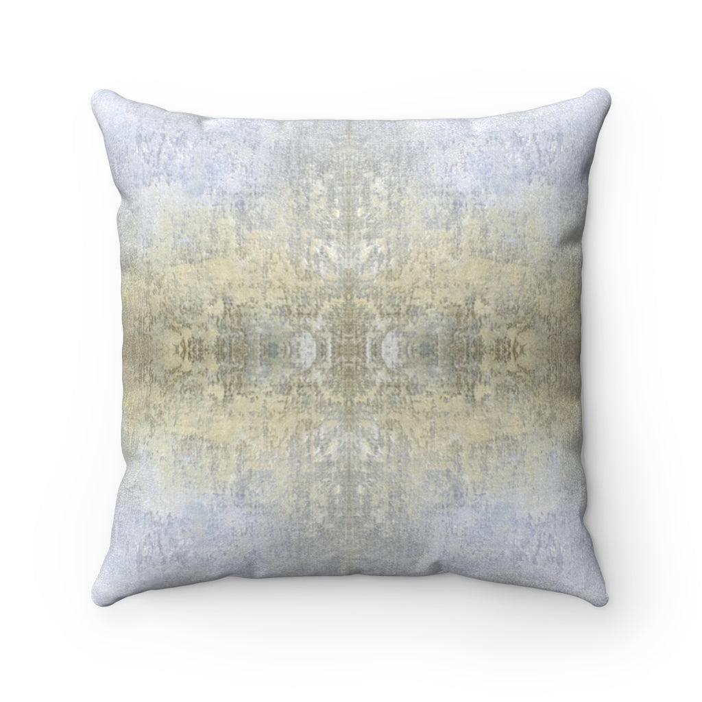 Spaces/Open ~ Sand ~ Faux Suede Square Pillow