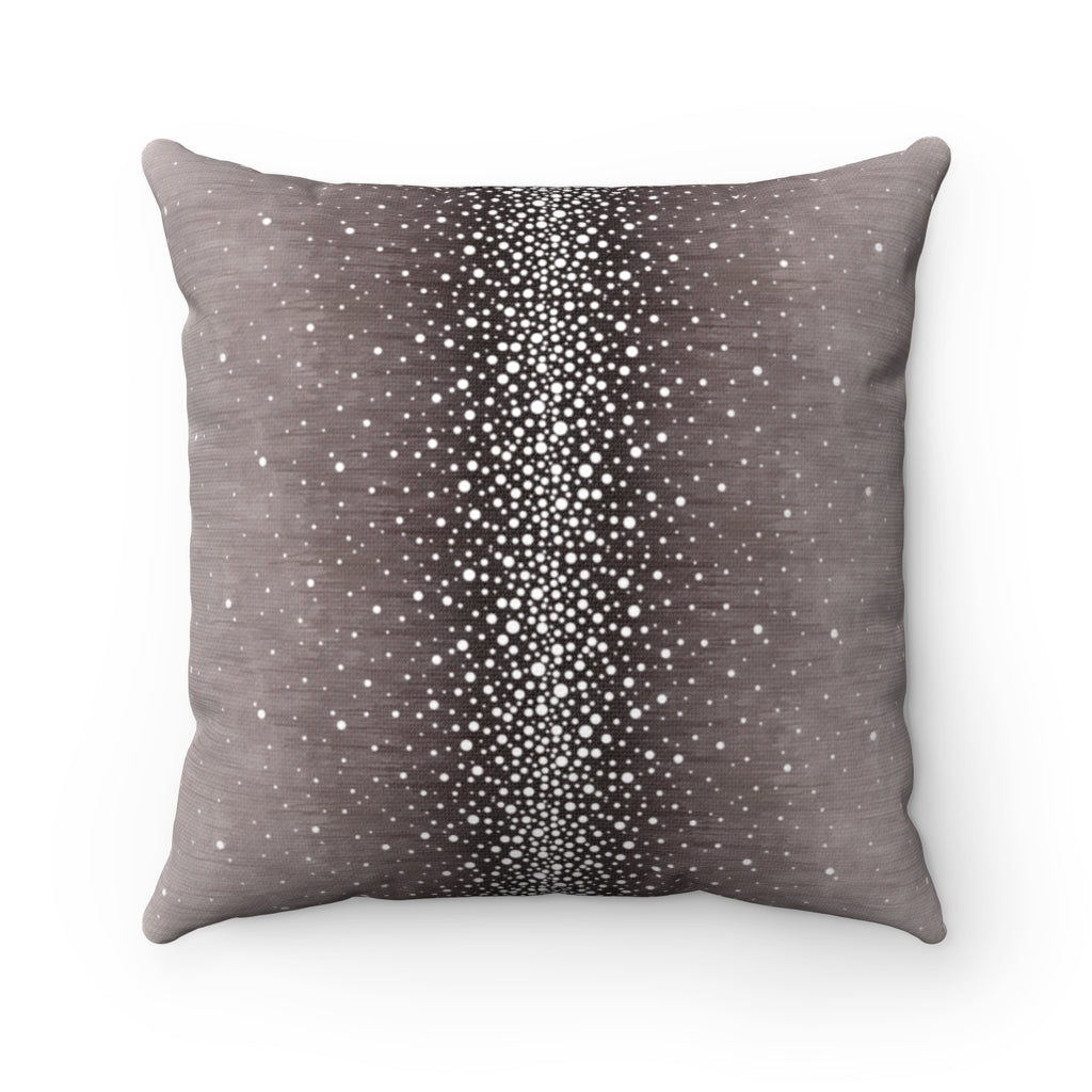 Rain ~ Grape ~ Spun Polyester Square Pillow