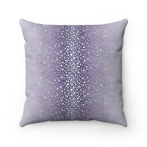 Rain ~ Heather ~ Spun Polyester Square Pillow