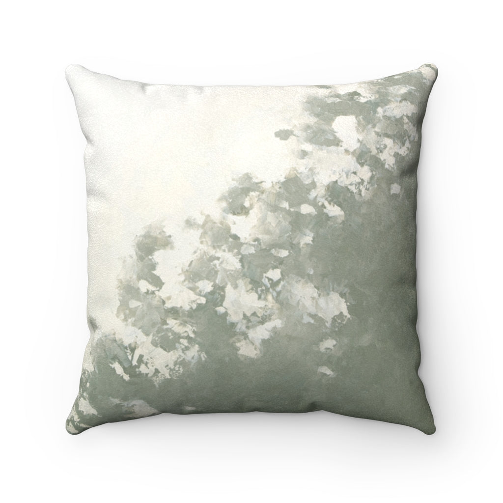 Flotsam ~ Wave ~ Faux Suede Square Pillow