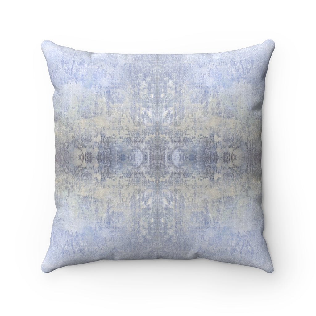 Spaces/Open ~ Sky ~ Faux Suede Square Pillow
