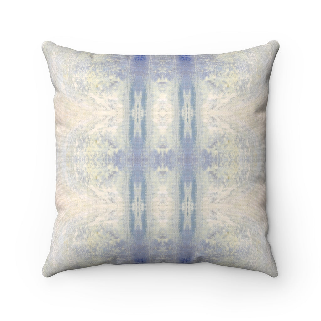 Aquarius/Ripple ~ Ocean ~ Spun Polyester Square Pillow