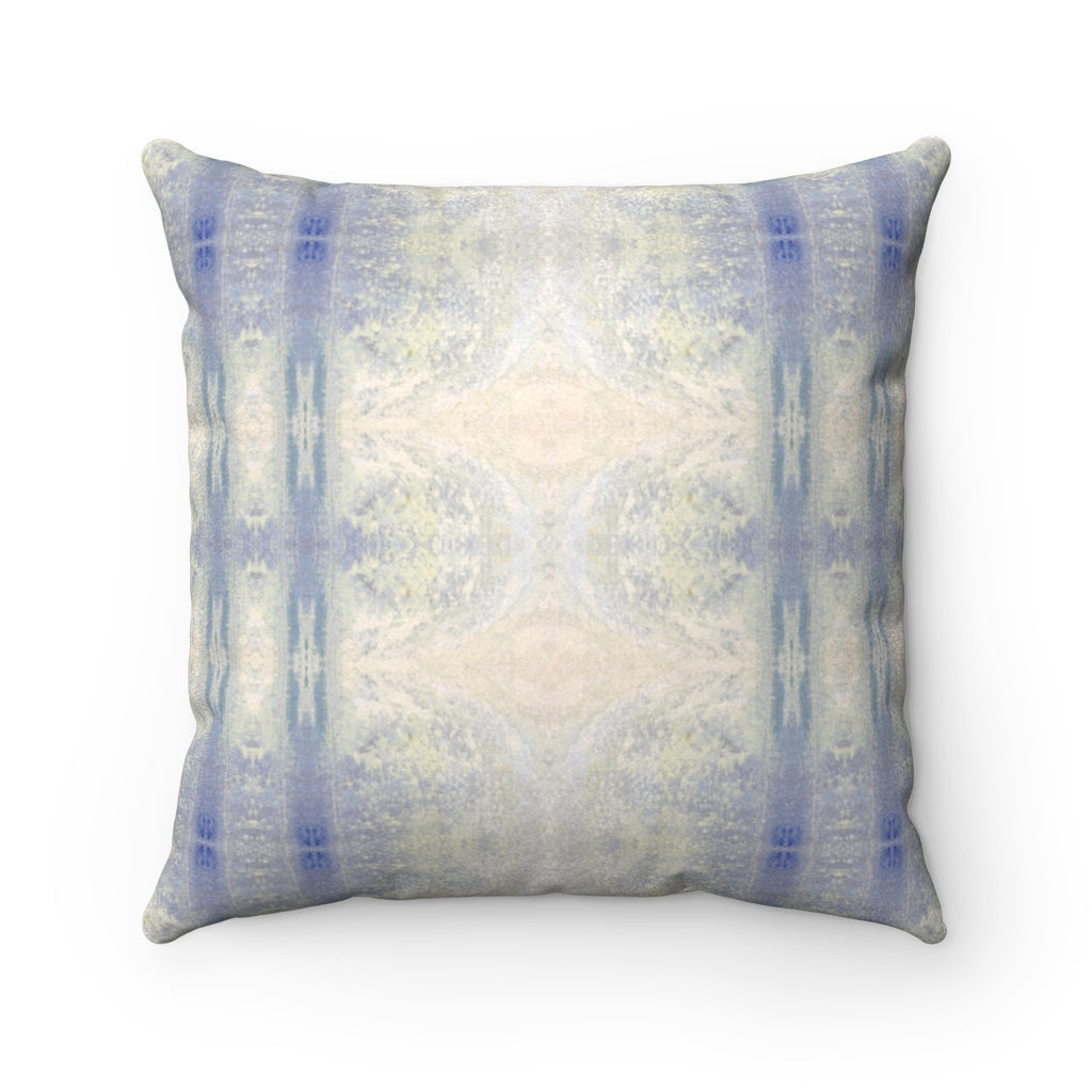 Aquarius/Reef ~ Ocean ~ Faux Suede Square Pillow