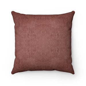 Watermark ~ Redwood ~ Faux Suede Square Pillow