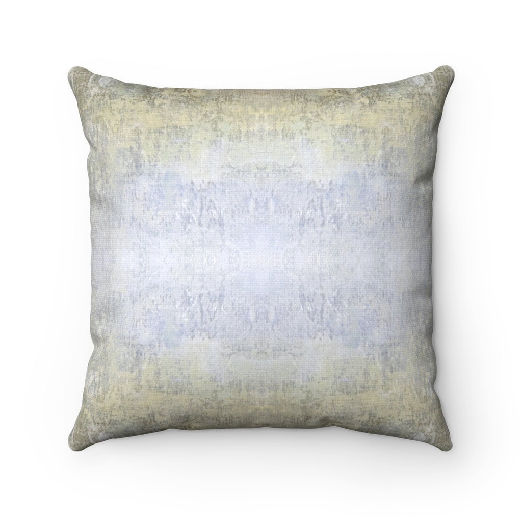 Spaces/Beyond ~ Sand ~ Spun Polyester Square Pillow