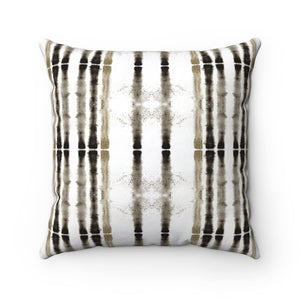 Lifeline ~ Sepia ~ Spun Polyester Square Pillow