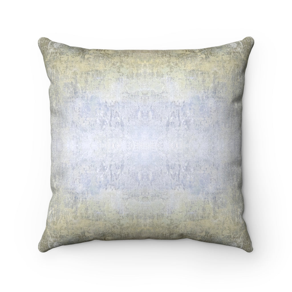 Spaces/Beyond ~ Sand ~ Faux Suede Square Pillow