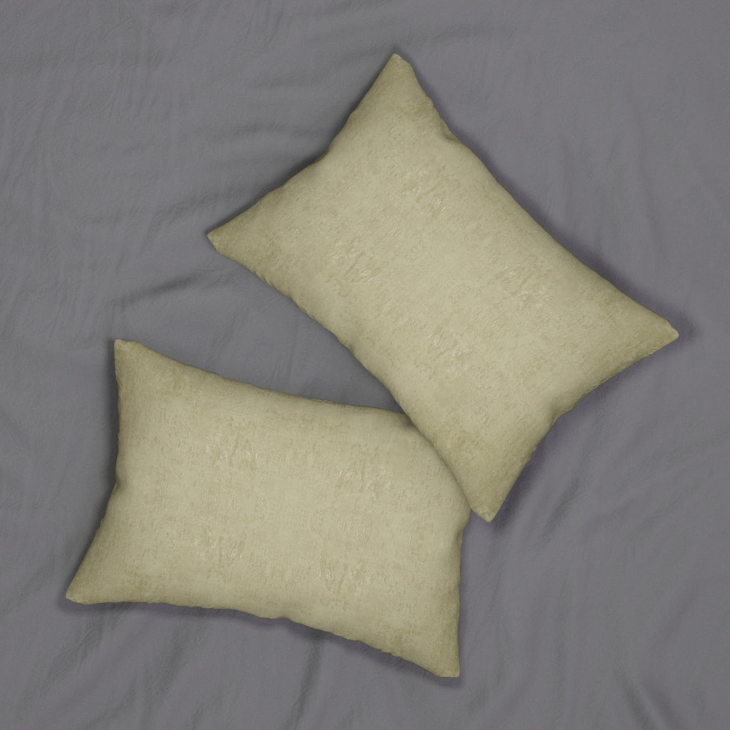 Watermark ~ Gold ~ Spun Polyester Lumbar Pillow