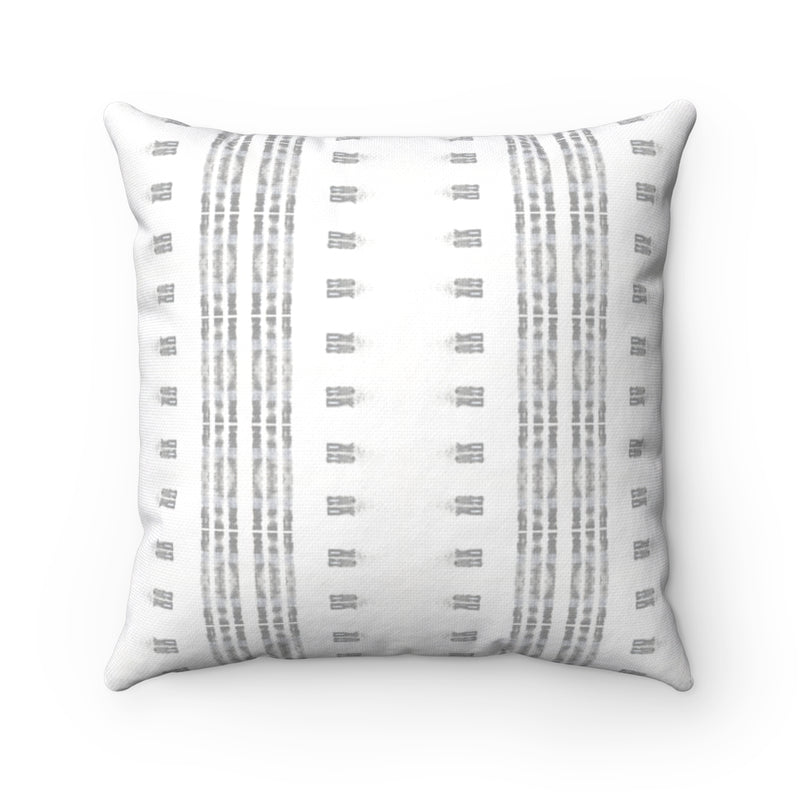 Family Gatherings ~ Grey ~ Spun Polyester Square Pillow