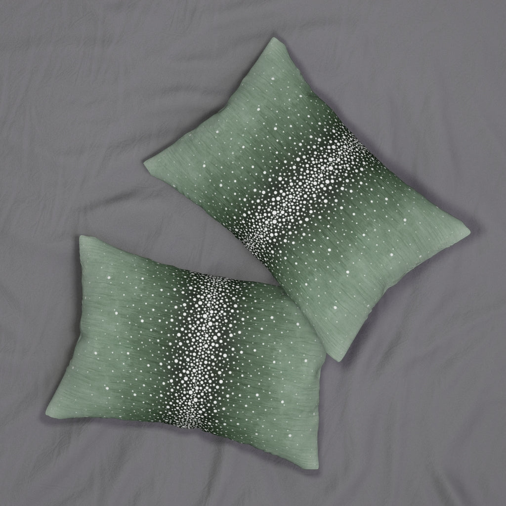 Rain ~ Forest ~ Spun Polyester Lumbar Pillow
