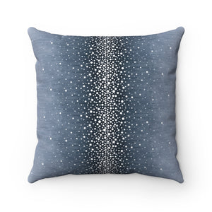 Rain ~ Storm Cloud ~ Spun Polyester Square Pillow
