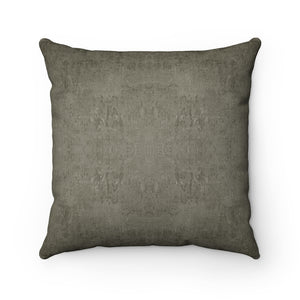 Watermark ~ Driftwood ~ Faux Suede Square Pillow