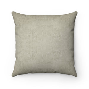 Watermark ~ Sand ~ Spun Polyester Square Pillow