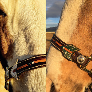 Arrow bronc halter