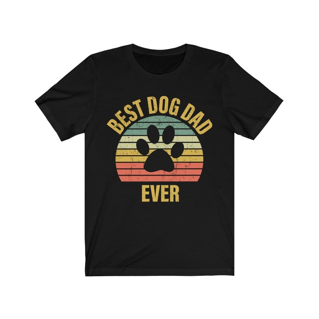 Best Dog Dog Ever Shirt T-Shirt Black / L Tiny Beast Designs