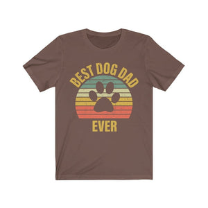 Best Dog Dog Ever Shirt T-Shirt Brown / S Tiny Beast Designs