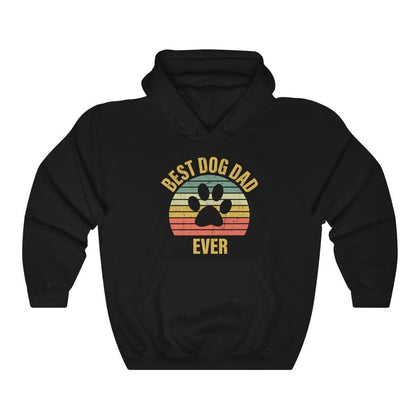 Best Dog Dog Ever Unisex Hoodie Hoodie Dark Heather / S Tiny Beast Designs