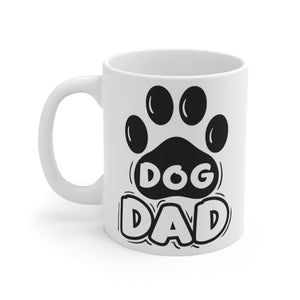 Dog Dad Mug Mug 11oz Tiny Beast Designs