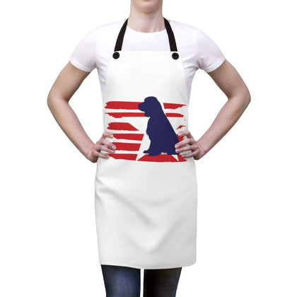 English Springer Spaniel American Stripes Apron Accessories One Size Tiny Beast Designs