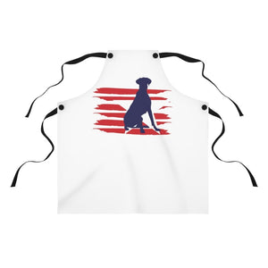 Great Dane American Stripes Apron Accessories One Size Tiny Beast Designs