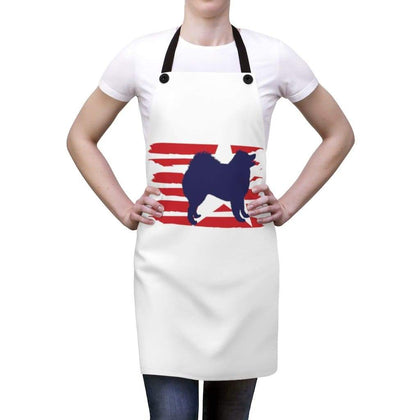 Samoyed American Stripes Apron Accessories One Size Tiny Beast Designs