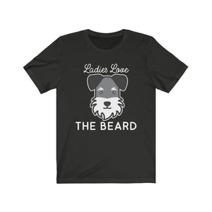 Schnauzer Beard Shirt T-Shirt Vintage Black / L Tiny Beast Designs