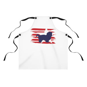 Shih Tzu American Stripes Apron Accessories One Size Tiny Beast Designs