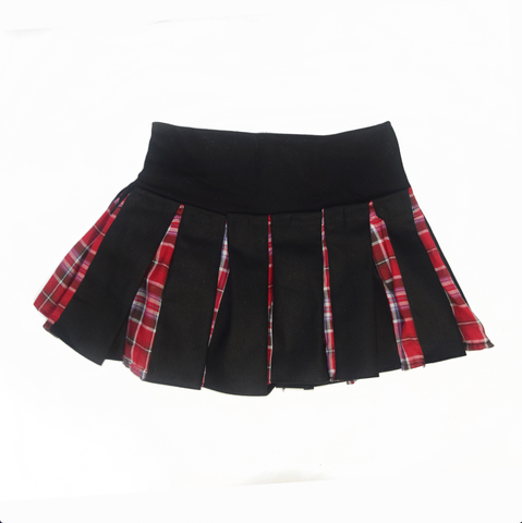 Naughty Punk Pleated Skirt|Against The Grain