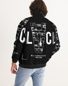 THE BLVCK COLLECTION Men's Bomber Jacket