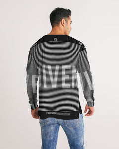 GIVEN COLLECTION Men's Athleisure Long Sleeve Tee