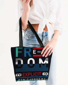 Freedom Collection Canvas Zip Tote